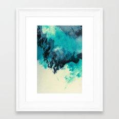 Painted Clouds V Framed Art Print