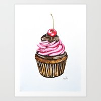it's cupcake o'clock  Art Print