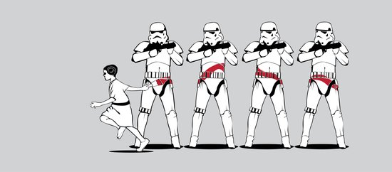 a Rebel Since She Was Young - US AND THEM Art Print