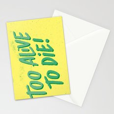 2 Alive Stationery Cards