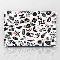 Black And White Pattern iPad Case