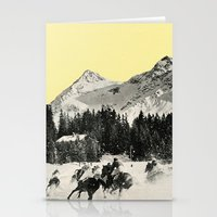 Winter Races Stationery Cards