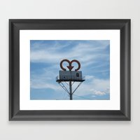 Symbol Framed Art Print