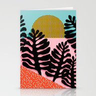 B.F.F. - Throwback 80s S… Stationery Cards