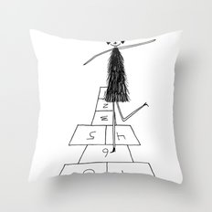 Hopscotch Throw Pillow