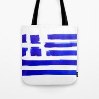 Blue is Greece Tote Bag