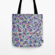 Pink Beneath Square-Conf… Tote Bag