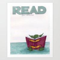 Read You Should Art Print