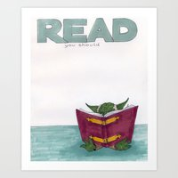 Read you should Art Print