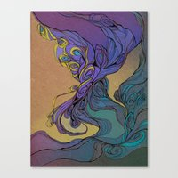 Magic Smoke Canvas Print