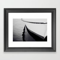 Reflections Black And Wh… Framed Art Print