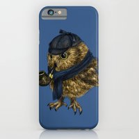 iPhone Cases featuring Sherlock // owl by Anna Shell