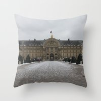 Hotel Des Invalides Throw Pillow