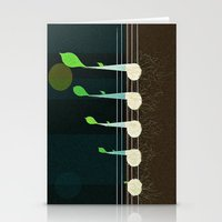 Music Seeds Stationery Cards