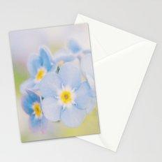 Blue Flower Macro Stationery Cards