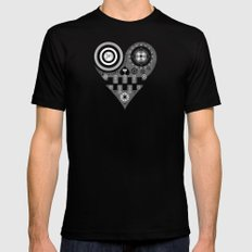 UL SMALL Black Mens Fitted Tee