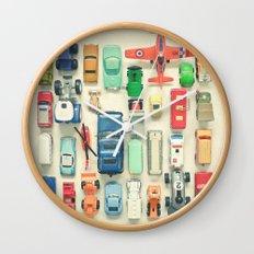 Free Parking Wall Clock