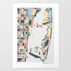 Miami Beach. Art Print