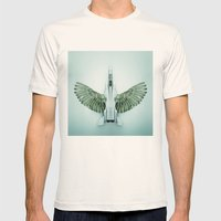 Mutant Plane Mens Fitted Tee Natural SMALL