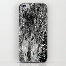 wolf 69 iPhone & iPod Skin