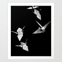 Senbazuru Art Print