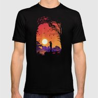 Moments Mens Fitted Tee Black SMALL