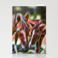 Horse Kisses Stationery Cards