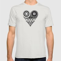 UL Mens Fitted Tee Silver SMALL