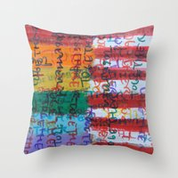 Flags for The Future 28 Throw Pillow