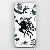 Fuite Du Roi iPhone & iPod Skin