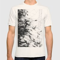 Dark Rain Mens Fitted Tee Natural SMALL