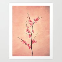 The Passion Of Pink Art Print
