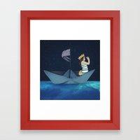 Night Adventure  Framed Art Print
