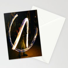 Fire Poi. Stationery Cards