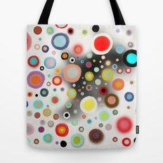 Whimsical Nursery Happy Circles Tote Bag