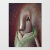 Three Hurt Feelings Last… Canvas Print