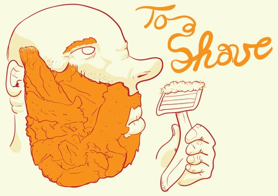 Too Shave Canvas Print