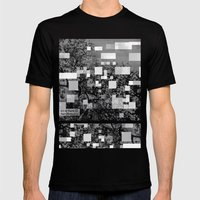 Deconstructions 3A Mens Fitted Tee Black SMALL