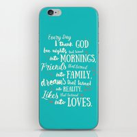 Thank God, Inspirational… iPhone & iPod Skin