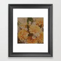 Autumn Floral Framed Art Print