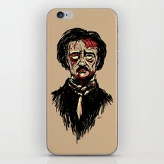 Edgar Allan Poe Zombie iPhone & iPod Skin