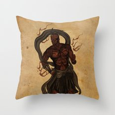 Darth Um Throw Pillow