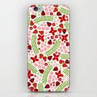 Lovely Ladybugs And Berr… iPhone & iPod Skin