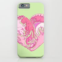 iPhone & iPod Case featuring Loveasaurus by Amz Kelso