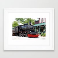 Wakefield Train Framed Art Print