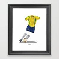 Brazil 2002 - World Cup … Framed Art Print