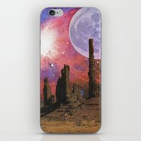 Nebula Desert Collage I iPhone & iPod Skin
