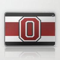 OSU Glove Stripe Laptop & iPad Skin