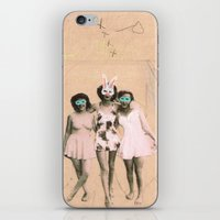 Imaginary Friends- Playmates iPhone & iPod Skin