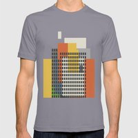 Architecture And Moralit… Mens Fitted Tee Slate SMALL